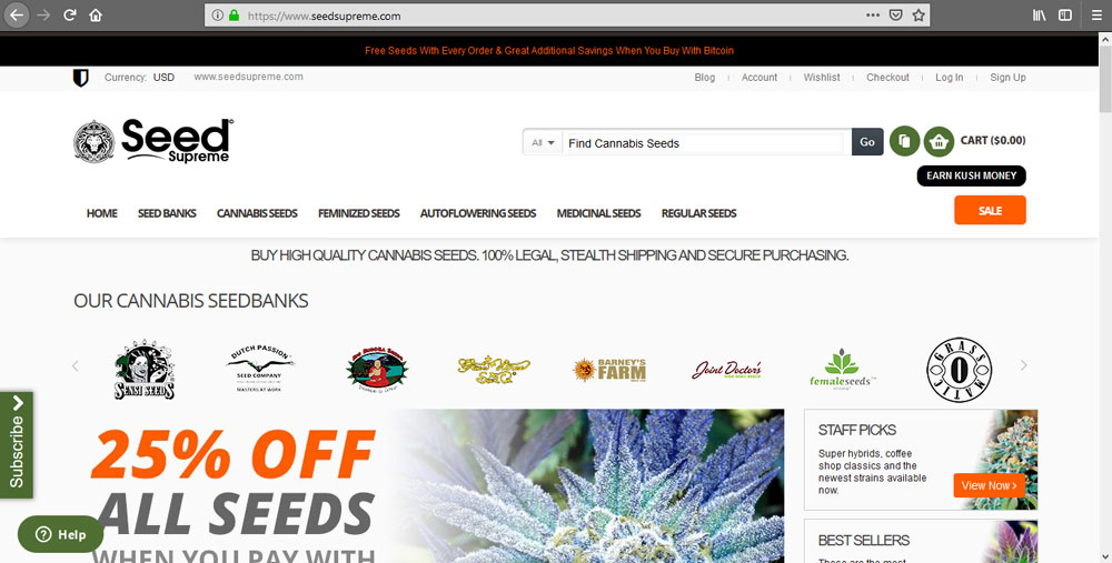 SeedSupreme Seedbank Review