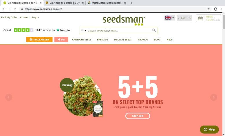 Seedsman Seedbank Review